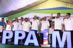 Majlis pecah tanah bagi projek pembangunan perumahan penjawat awam 1malaysia (PPA1M) Tmn Metropolitan kepong,KL.26/5/16