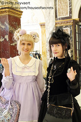 Mila and Marie (House Of Secrets Incorporated) Tags: amsterdam fashion marie events gothic mila goth thenetherlands lolita egl gothiclolita underthesea jfashion sweetlolita royaltropicalinstitute eglfashion eglcommunity jfashionevent undertheseaevent