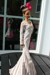 Misty modeling J-Lo's gown image (vinvisible11) Tags: ballet ballerina ooak barbie dancer enhancement articulation mistycopeland