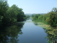 Ulverston Canal. (Bennydorm) Tags: greatbritain trees england green water rural canal scenic cumbria picturesque ulverston waterway furness