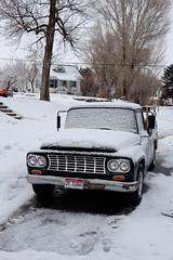 Idahoan truck (mountain of clouds) Tags: americanfalls fujifilmxe1
