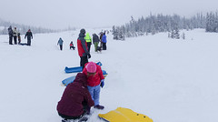 snowy white river (dolanh) Tags: winter snow whiteriver sledding mthoodwilderness whiteriversnopark