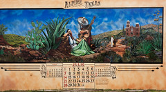Afternoon Serenade_5846- (miss_betty2012 (not available much)) Tags: art colors painting us mural colorful texas unitedstates calendar tx alpine westtexas mexicanart
