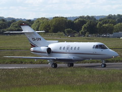 CS-DRV Hawker 125-800XP Netjets Europe Ltd (Aircaft @ Gloucestershire Airport By James) Tags: james airport europe gloucestershire ltd lloyds hawker netjets bizjet egbj 125800xp csdrv