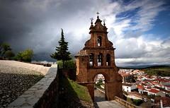 Aracena - Huelva (Garciamartn) Tags: andaluca huelva iglesia nubes nino campanas aracena espadaa garciamartn