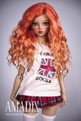 Gentle flame (Amadiz) Tags: tan chloe wig bjd fairyland feeplee60