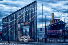 Boatyard (KevinMcMurtrie) Tags: museum cafe scottish irvine boatyard ayrshire puffers marimtime