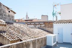 . (Leslie Owensby) Tags: travel summer holiday spain europe rooftops mallorca palma majorca