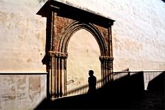 La sombra (mgarciac1965) Tags: españa luz sevilla andalucía spain arquitectura edificio iglesia sombra arco flickrsbest nikond5200