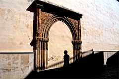 La sombra (mgarciac1965) Tags: espaa luz sevilla andaluca spain arquitectura edificio iglesia sombra arco flickrsbest nikond5200