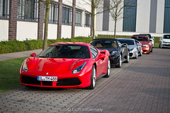 Combo. (ExoticsofGermany) Tags: porsche 991 gt3 rs turqoise supercar mercedes e63 amg 4x4 squared ferrari 599 gtb hgte gto 488 f430 spider sls