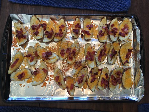 Homemade Potato Skins by Wesley Fryer, on Flickr