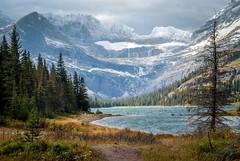 Glacier NP (jeffloomis1) Tags: lake snow mountains landscape grandtetonnationalpark manyglacier