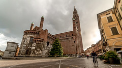 Cremona by bike (Bigalbertone) Tags: architechture cathedral bicicletta cattedrale cremona byke