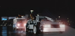 They found us! The Kanjiklub! (hachiroku24) Tags: vw toy star back force lego time hill machine solo valley future wars delorean han chewbacca awakens