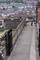 City Wall, Londonderry (ghostwheel_in_shadow) Tags: ireland wall europe unitedkingdom bogside londonderry northernireland fortification bastion derry citywall ulster publicarchitecture architecturalelement militarystructures architectureandstructures