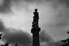 Minuteman (BeardedMiler) Tags: monument statue marina neck freedom memorial cloudy nj battle landmark american revolution chestnut minutemen of