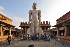 India - Karnataka - Shravanabelagola - Lord Gommateshwara - 1 (asienman) Tags: india karnataka bahubali shravanabelagola asienmanphotography lordgommateshwara