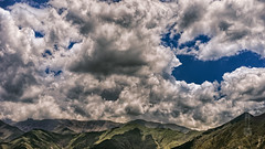 Tibet, mountains and sky (Lhasa, China), 06-2016, 01 (Vlad Meytin, vladsm.com) (Vlad Meytin | Instagram: vmwelt) Tags: pictures china blue summer sky mountains hot green clouds landscape photography asia dramatic sunny tibet hills  lhasa himalayas    chengguan   khimporiumco meytin vladmeytin vladsm vladsmcom