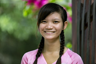 Portrait of a Vietnamese Girl