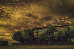 (Chains of Pace) Tags: sunset storm oklahoma weather clouds mammatus guymon