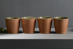 Tea-Bowl-green-brown-021 (cdkceramic) Tags: brown green ceramic teabowl    cdkceramic