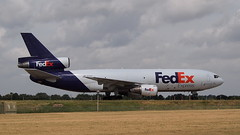 "N303FE ""Macy"" (MD10) at KMEM (novarese) Tags: fdx fedex mem dc10 trijet kmem md10 md10f n303fe"