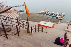 Secularism | Varanasi,India (vjisin) Tags: street travel light people india heritage water river boat nikon women asia outdoor religion steps shapes silk streetphotography varanasi muslims hindu hinduism saree ganga ganges ghats benaras kasi travelphotography secularism incredibleindia secularstate