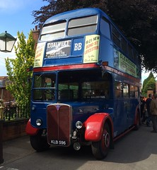 Abbey Pumping Station Leicester 25th June 2016 (loose_grip_99) Tags: uk england bus london abbey station june leicestershire leicester transport double transportation radiator rt lt preservation decker pumping 2016 klb596