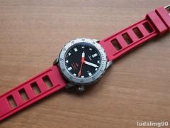 Sinn U1 on Obris Morgan rubber strap (ludalmg90) Tags: watches watch diving rubber strap u1 diver morgan sinn obris