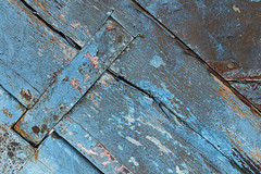 Macro Texture Study 5 (katie47n) Tags: macro boat hull peelingpaint rust texture detail abstract wood old wickford ri color weathered worn shipyard boatyard