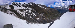 Snakes and ladders (jaberwockysteve) Tags: italy snow mountains alps europe prato switchbacks bormio windingroads stelviopass passodellastelvio