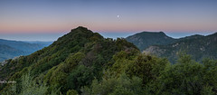 Early Mountains (sochhoeung) Tags: morning sky moon mountains cold early high rise sequoia sequoianationalpark