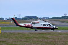 G-TRMP Sikorsky S-76B Trump at Prestwick (Allan Durward) Tags: donaldtrump trump prestwick pik s76 prestwickairport egpk sikorskys76b s76b glasgowprestwick gtrmp