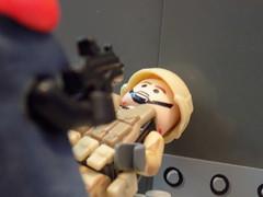 goodbye... #2 (Uplifthaddock45) Tags: lego purge brickarms soldier custom
