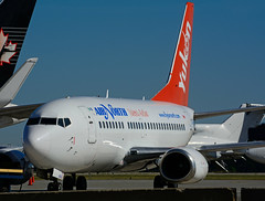 C-GANJ (Air North) (Steelhead 2010) Tags: yukon boeing b737 airnorth yhm creg b737500 cganj