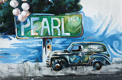 the pearl (fallsroad) Tags: wall mural paint thepearl tulsaoklahoma nikond7000