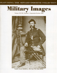 Military Images magazine cover, September/October 2006 (militaryimages) Tags: history infantry mi america magazine soldier photography rebel us marine uniform photographer unitedstates military union navy archive confederate worldwari civilwar american weapon tintype ambrotype artillery stereoview cartedevisite sailor ruby veteran roach daguerreotype yankee cavalry neville spanishamericanwar albumen mexicanwar coddington backissue citizensoldier indianwar heavyartillery matcher findingaid militaryimages hardplate