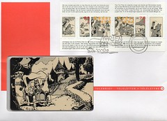 MARTEN TOONDER (streamer020nl) Tags: holland comics stamps 1996 nederland strips phonecard briefmarken tompoes toonder postzegels telefoonkaart heerbommel teleletter telebrief