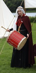 Medieval Lady Musician (Clydesider2014) Tags: musician lady spectacular scotland drum palace medieval historic jousting linlithgow gaita