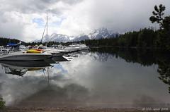 Colter Bay Marina, Grand Teton National Park (V. C. Wald) Tags: storm colterbay grandtetonnationalpark jacksonlake colterbaymarina