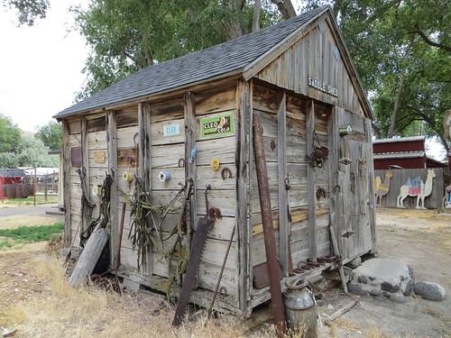 Old saddle shed