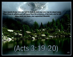 Acts 3:19-20 nlt (Bob Smerecki) Tags: life love church true rock stone easter born high truth heaven king christ god spirit brother father ghost religion jesus lord christian mount holy moses again olives lamb bible alive commandments messiah risen salvation abba sanctuary prayers tabernacle nations sabbath blessed redeemer almighty sins scriptures acts passover faithful everlasting slain forgive baptised crucified preist apostle forgiven deciples reserection strongtower 31920