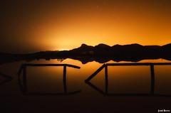 Salinas de Calblanque (Legi.) Tags: longexposure reflection landscape nikon sigma salinas nocturna 1020 cartagena reflejos largaexposición calblanque d5100