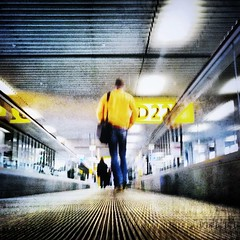 Schipol Amsterdam ( brendan) Tags: travel holland travelling amsterdam modern wonderful wonder travellers terminal adventure schipol exploration departures ams commuters exciting arrivals yellowman iphone b28 intothefuture downlowperspective iphoneart livelearnlove rebelsab april2013 maninairport brendanapril