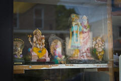 Temple Friends (specialoperations) Tags: nyc ny newyork temple worship god queens ganesh gods hindu hinduism goddesses dosahutt