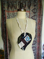 floriography necklace1 (Danny W. Mansmith) Tags: seattle handmade sewing details fiberart delicate homespun urbancraftuprising dannymansmith shellbuttons drawingwiththesewingmachine stopmotionsewing