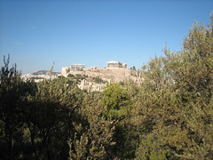 147 - Parthenon from Filopappas hill (Scott Shetrone) Tags: forest other scenery events places athens parthenon greece monuments acropolis 5th anniversaries