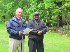 Mayor Pagano of Portchester (Jay Heritage Center) Tags: street ny building heritage history cemetery dave town george community memorial war day jay otis mayor bell thomas senator african steve north bridges landmark center joe rye civil american soldiers kenner samuel veterans westchester pagano latimer portchester carvin assemblyman descendants