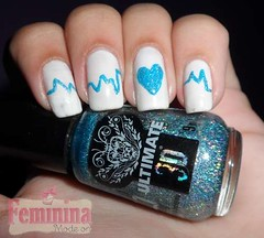 Unhas da Semana - Corao Apaixonado (NayCaroline28) Tags: art heart nail dia dos corao valentines namorados unhas dail apaixonado decoradas